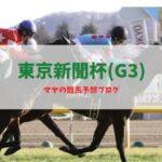 東京新聞杯 競馬予想 2021